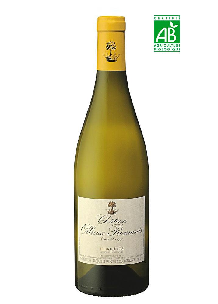 Cuvée Prestige blanc Ollieux Romanis - AOP Corbières