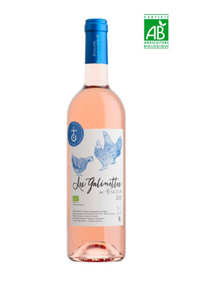 Les Galinettes rosé de l'Enclos de la Croix - IGP Pays d'Hérault