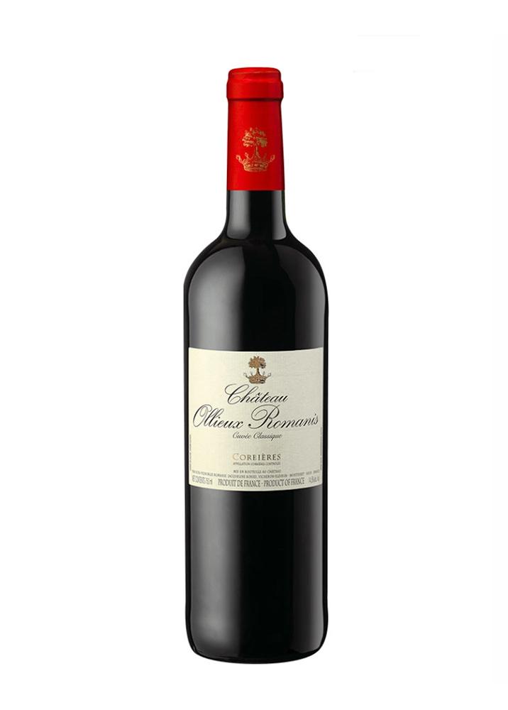 Cuvée Classique rouge Ollieux Romanis - AOP Corbières