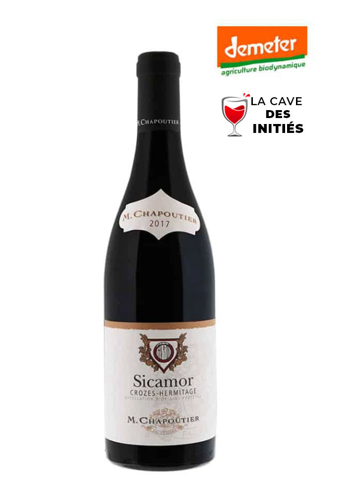 Sicamor rouge 2017 M.Chapoutier - AOP Crozes-Hermitage