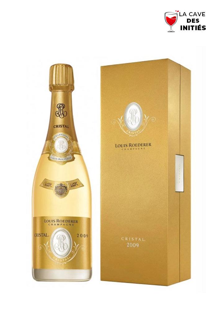 MAGNUM Cristal 2009 - Louis ROEDERER - AOP Champagne - Dans son étui
