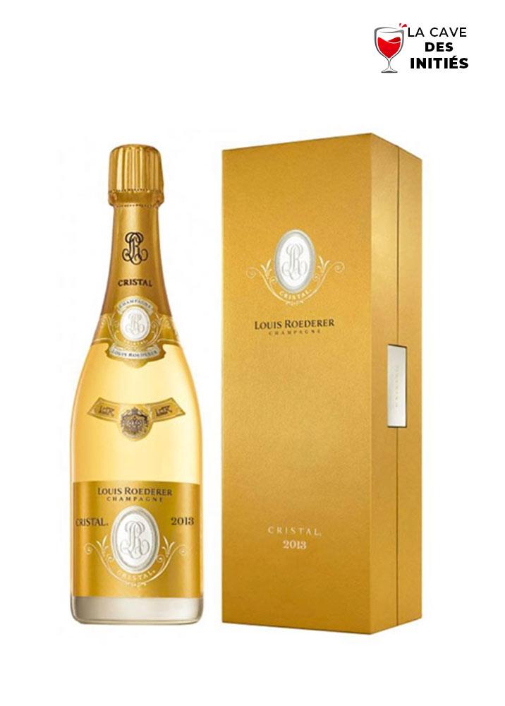 Cristal 2013 - Louis ROEDERER - AOP Champagne - Dans son étui