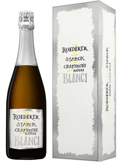 Brut Nature 2012 - Louis ROEDERER et Philippe STARCK - AOP Champagne - Dans son étui